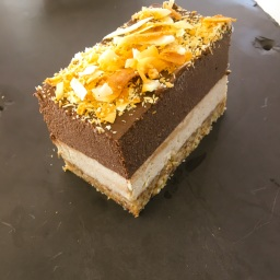 "raw cacao & coconut cheesecake (the ""bounty"" cheesecake)"