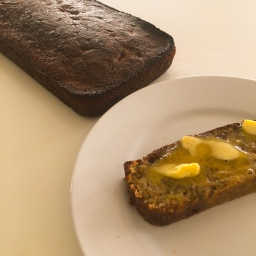 banana bread (gf, rsf)